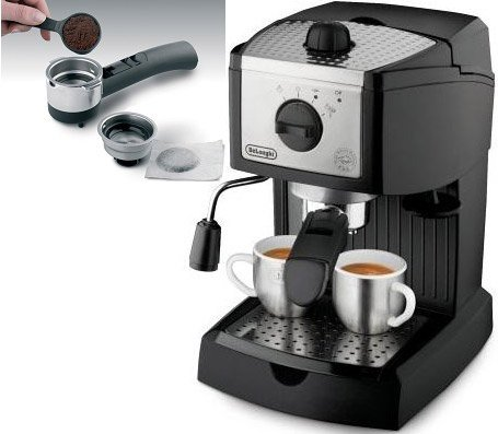 Nespresso Coffee Maker 220 Volts : DeLonghi EC155 Pump Espresso and Cappuccino Maker, 220 to 240-volt