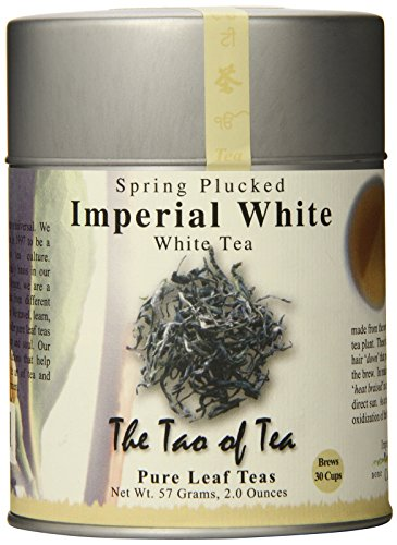 The Tao of Tea, Imperial White Tea, Loose Leaf, 2.0 Ounce Tins