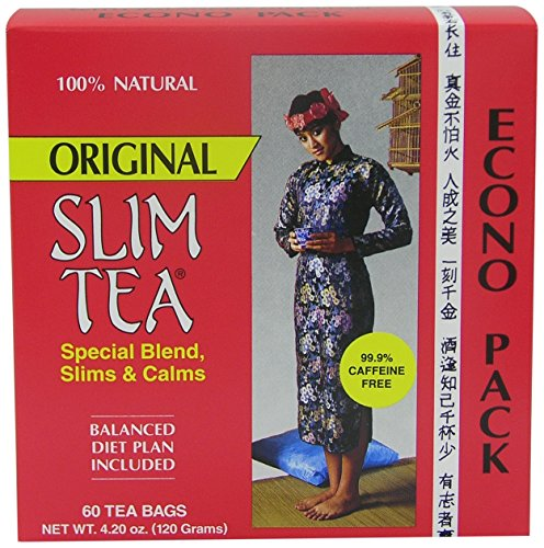 Hobe Laboratories Slim Tea – Original, 60-Count Tea Bags