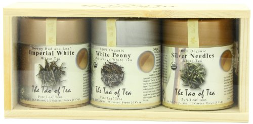 The Tao of Tea White Tea Sampler, 3-Count Box