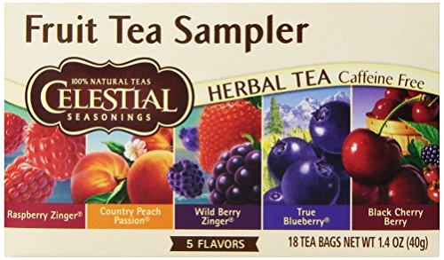 Celestial Seasonings Fruit Tea Sampler Tea Bags – 18 ct