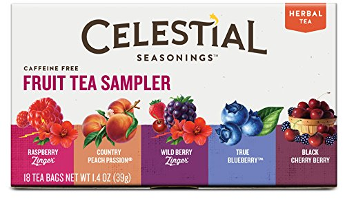 Celestial Seasonings Fruit Tea Sampler, 18 Count (Pack of 6)