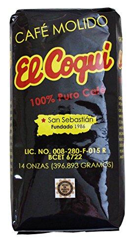 Puerto Rico Coffee El Coqui Coffee bag 14oz