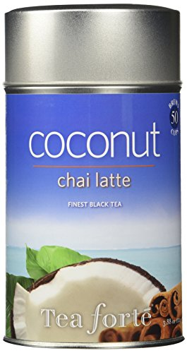 Tea Forte COCONUT CHAI LATTE Loose Leaf Black Tea, 3.88 Ounce Tea Tin