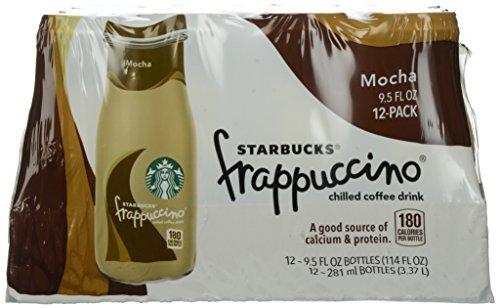 Starbucks Mocha Frappuccino, 9.5 oz, 12 ct