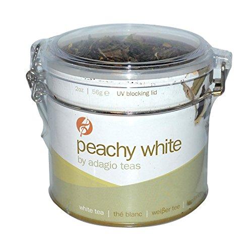 Adagio Teas Peachy White 2 oz Tin