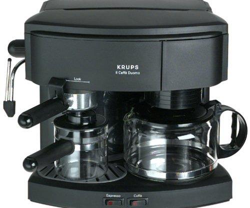 Krups 985 42 Il Caffe Duomo Coffee And Espresso Machine Black