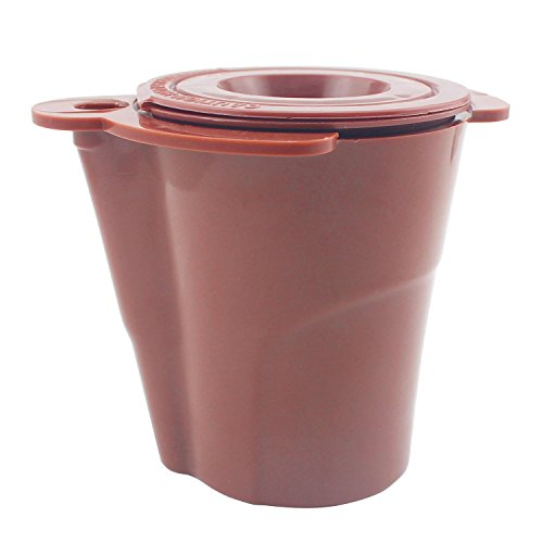 UPGRADED #SK001 KZ-Cup/K2V-Cup For Keurig VUE Brewers by Zaker, Brown