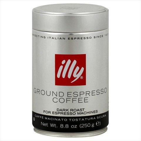 Dark Ground Espresso Coffee 8.8 OZ, – Pack of 6