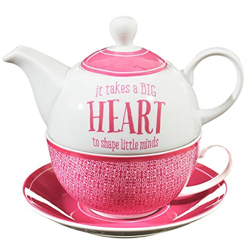 Blessings to the Teacher Tea-for-One Set – 1 Corinthians 16:14