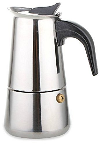 Maxware Stainless Steel Stovetop Espresso Maker, 6 Cups