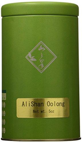 Mountain Tea Company – 5oz Alishan Oolong, Loose-leaf Green Oolong Tea