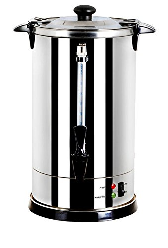 GForce GF-P1479-967 Luxury Stainless Steel Coffee Maker and Hot Water Urn 8.8 Liter 60 Cups Capacity