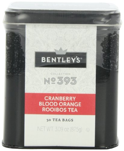 Bentley's Harmony Collection Tin, Cranberry Blood Orange Rooibos, 50 Count