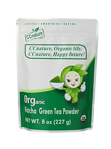 CCnature Organic Matcha Green Tea Powder 8oz (new)
