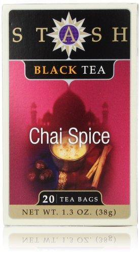 Stash Chai Spice Black Tea, 20 count