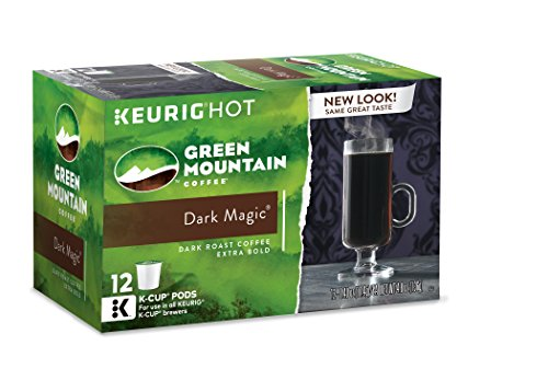 Green Mountain Coffee Dark Magic, Keurig K-Cups, 72 Count
