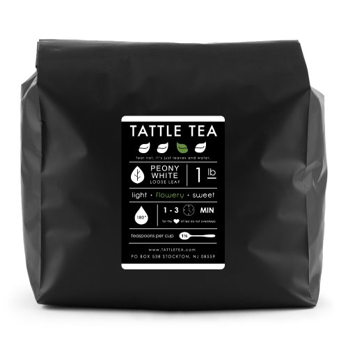 Tattle Tea White Tea, Peony, 1 Pound