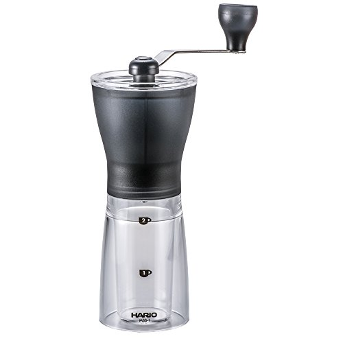 Hario Coffee Mill Slim Grinder, Mini MSS-1TB