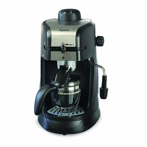 Capresso 303.01 4-Cup Espresso and Cappuccino Machine (Chrome)