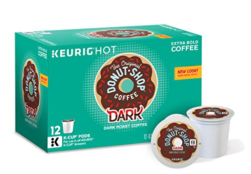 The Original Donut Shop Dark Coffee, Keurig K-Cups, 72 Count