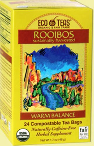 Eco Teas, Rooibos, 24 Tea Bags (Pack of 3)