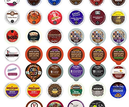 40 Count Bold Amp Dark Roast Coffee Single Serve Cups For