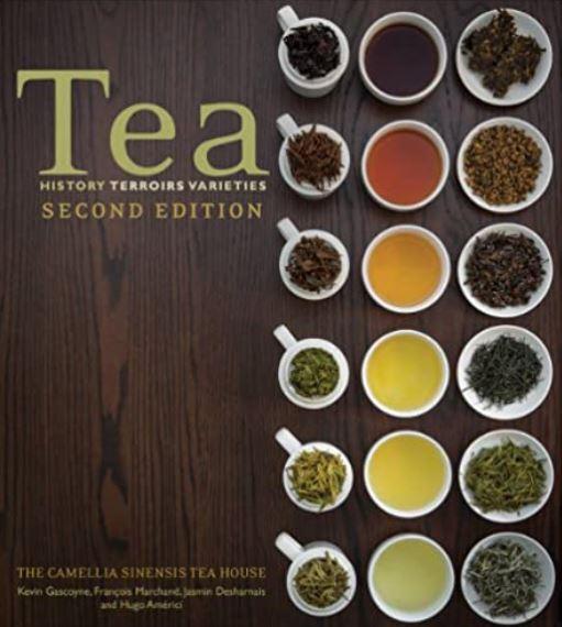 tea book tea sommelier tea master book