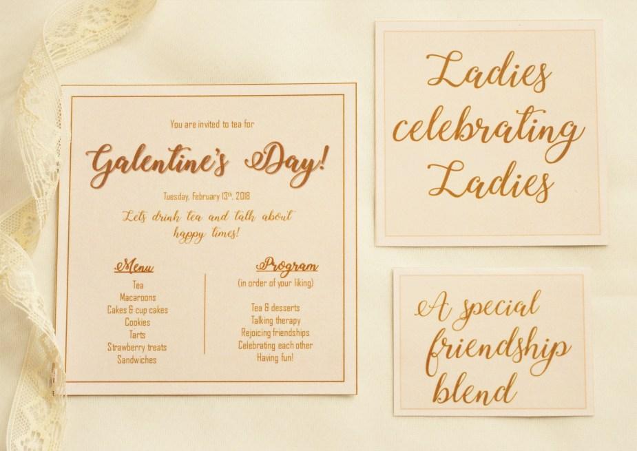 Galentine's Invitation
