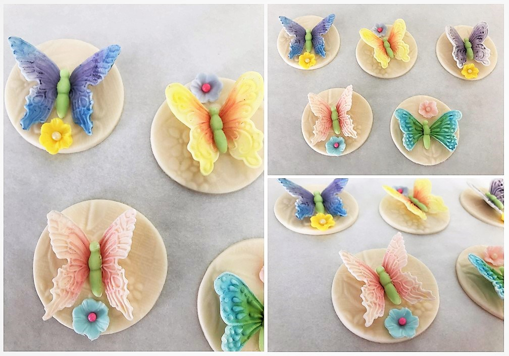 butterfly cake toppers