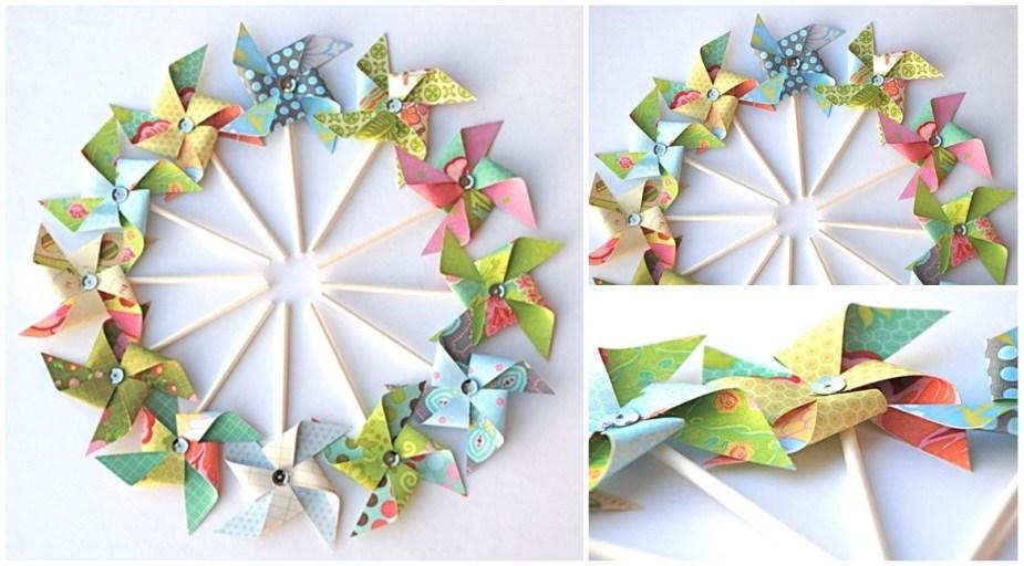 Pinwheels spring