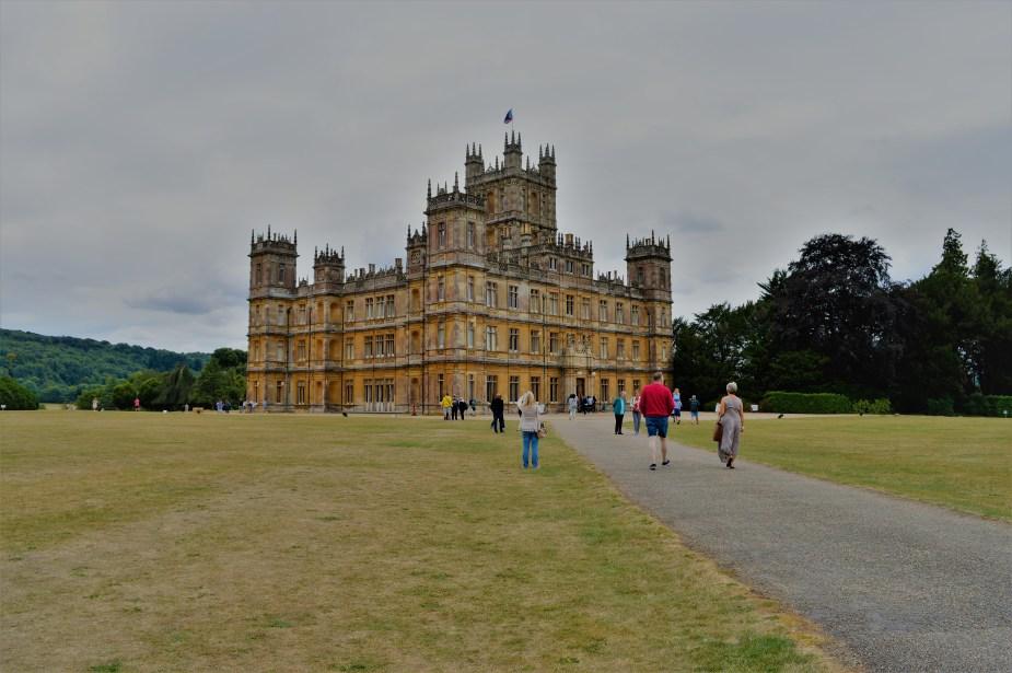 Driveway to Downton Abbey