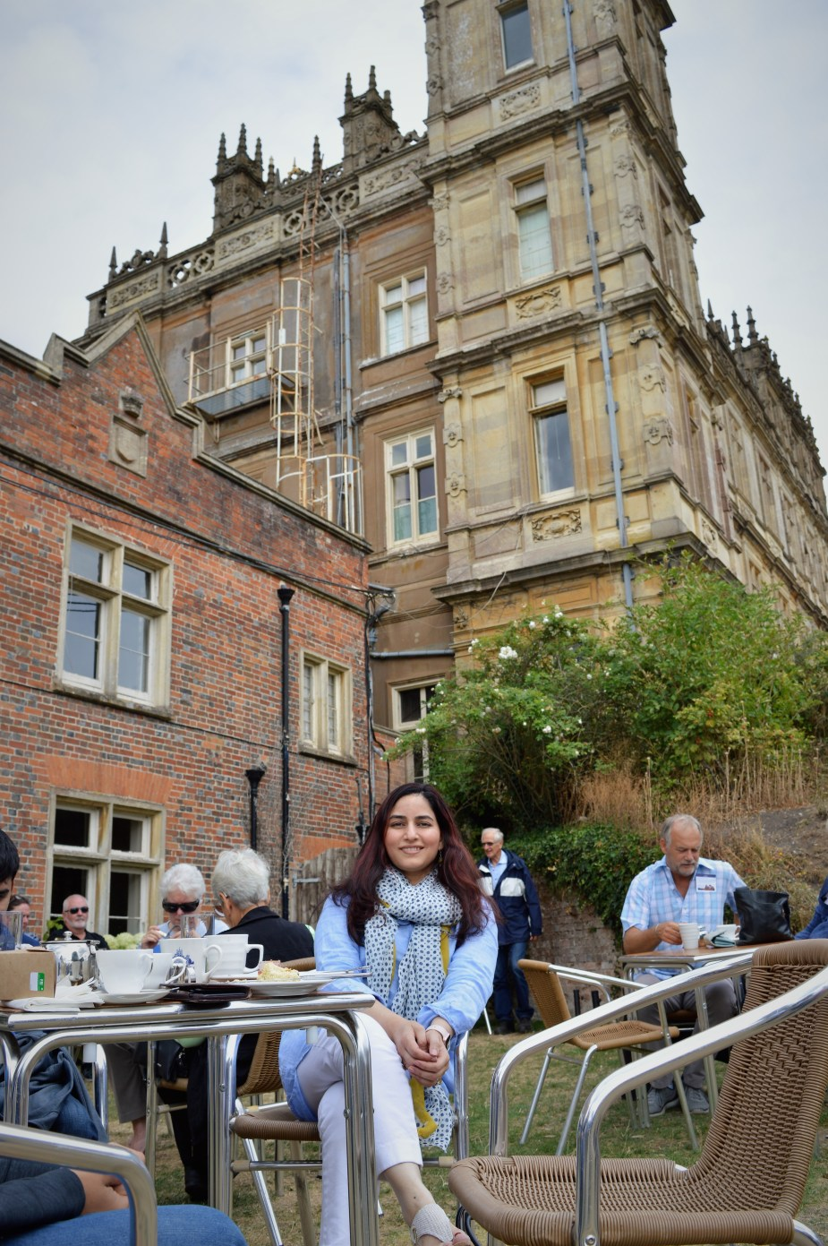 Tea at Downton Abbey (2)