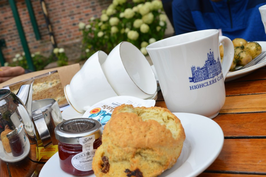 tea at downton abbey
