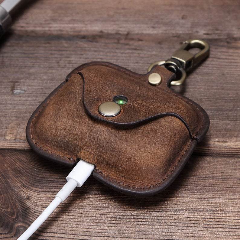 Father's Day Leather Airpod Case Gift
