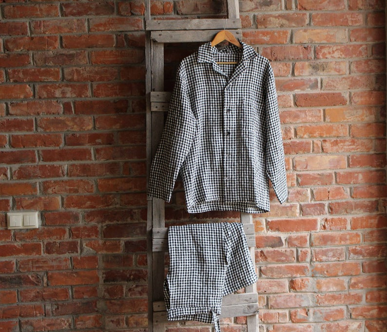 Father's Day Linen Pajamas Gift