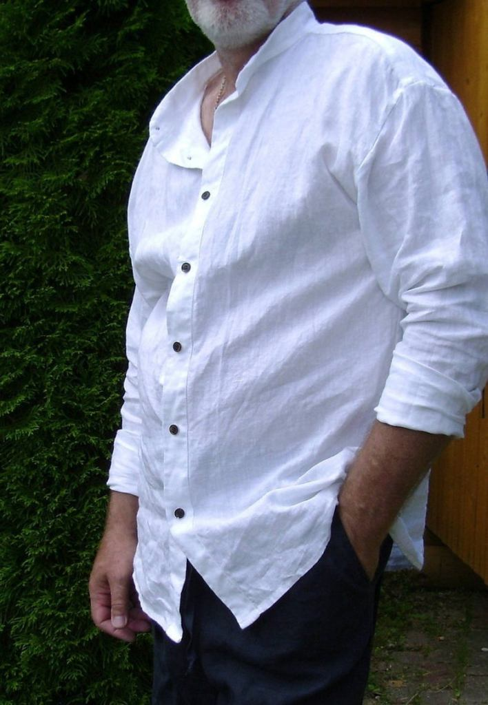 Father's Day Linen Shirt Gift