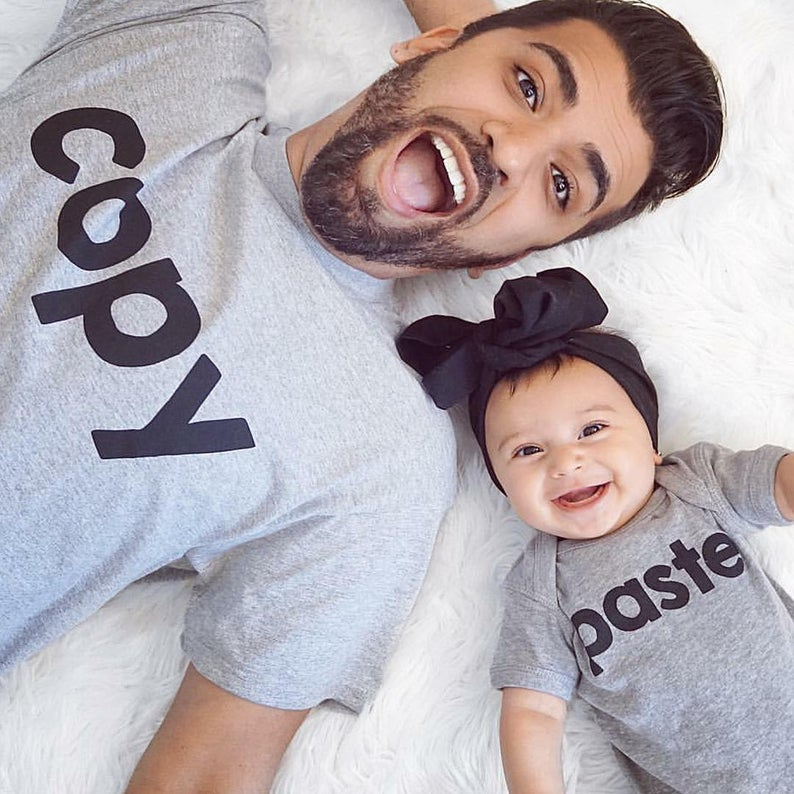 Father's Day Gifts for new dads Matching Shirt for Father and Daughter