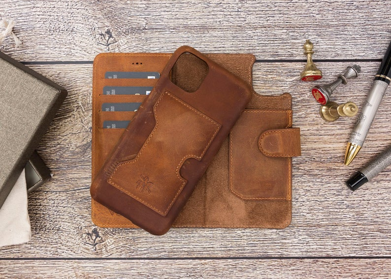 Father's Day Leather Phone Case Gift