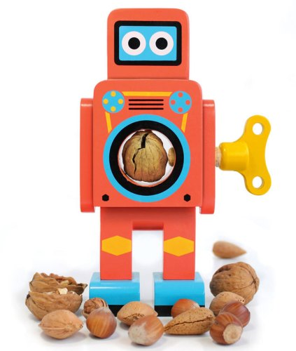 Wooden-robot-nutcrackers-1