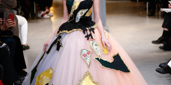 Viktor & Rolf- Haute Couture- Spring 2017- Patchwork and Tulle