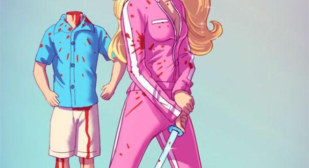 Children's Characters becoming Badass Killers….