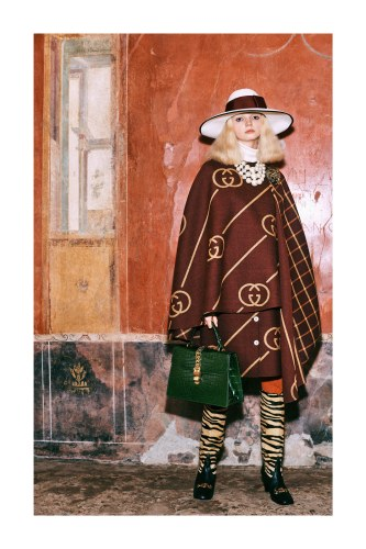 3d0272bf7a81fb Here are my fave looks from the Gucci Pre-Fall collection… it's the usual  bag lady meets thrift store meets bored millennial. I like this look, ...