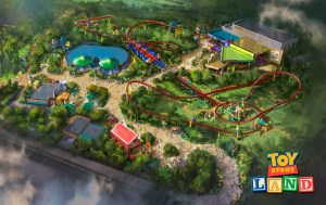 Toy Story Land at Walt Disney World