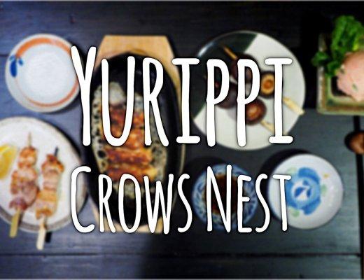 Yurippi, Crows Nest. Sydney Food Blog Review