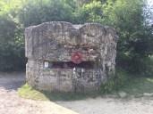 A preserved bunker