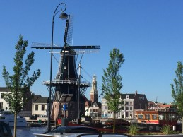 It's called Molen De Adriaan, and we stumbled across it, but knowing nothing more have only a picture. Maybe next time.