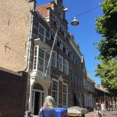 Delft had flagpoles like this more than in any other town we visited.