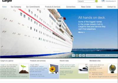 Cargill website content