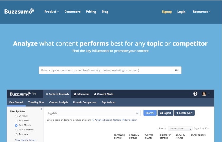 BuzzSumo: Why you need this essential content marketing tool